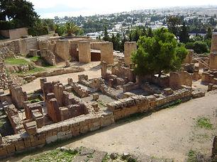 Restes de la ciutat de Cartago.