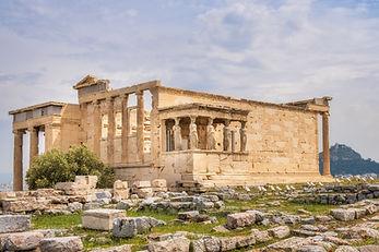Erectèon, temple dedicat a Erecteu, primer rei d'Atenes.