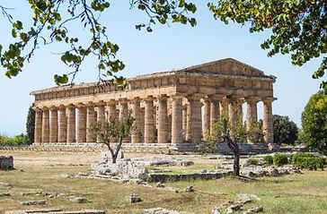 Temple d'Hefest, a la ciutat d'Atenes.