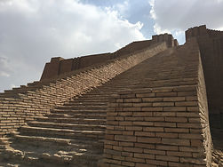 Escales del Ziggurat d'Ur.