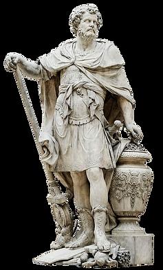 Estàtua del general cartaginès Anníbal Barca.