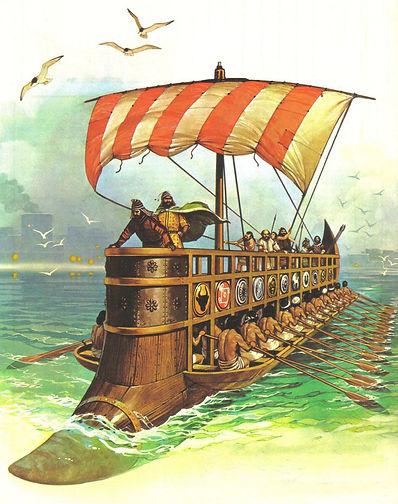Vaixell fenici.