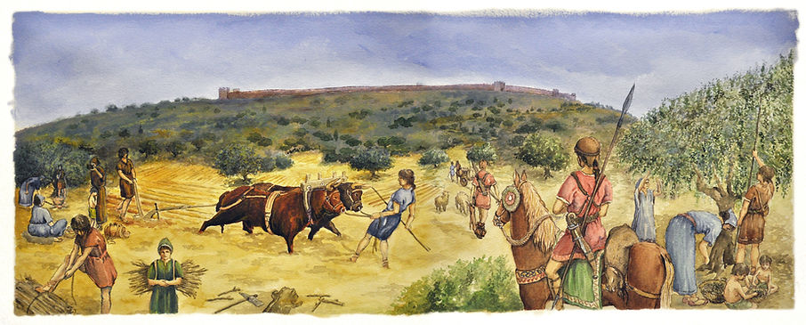 Ibers treballant en el camp, Museu de Prehistòria de València (Flickr)