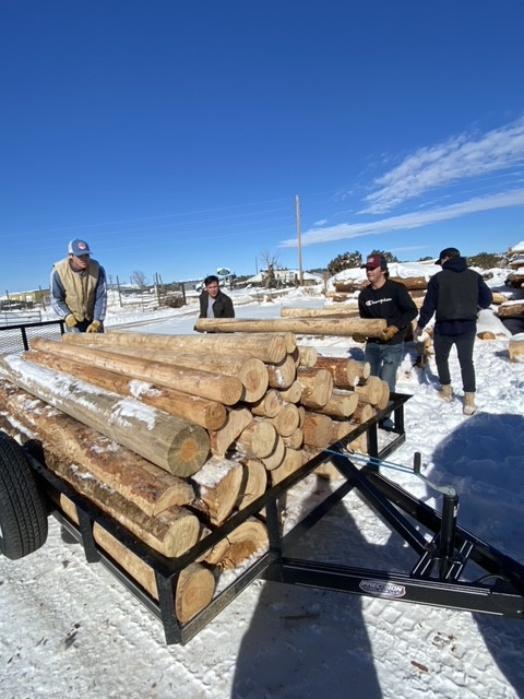 Thank you Ironwood LLC wood donations