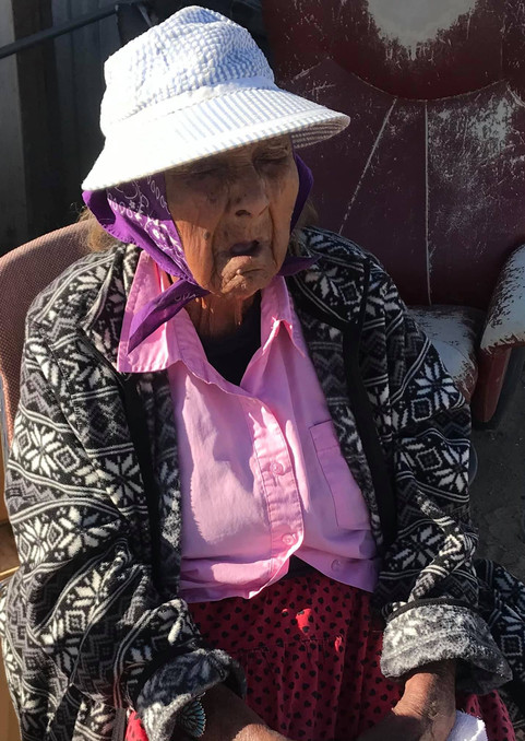 95 year old grandmother needed fuel to heat her home during the winter