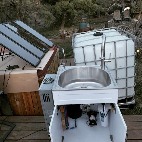 Fundamental Needs off-grid water system
