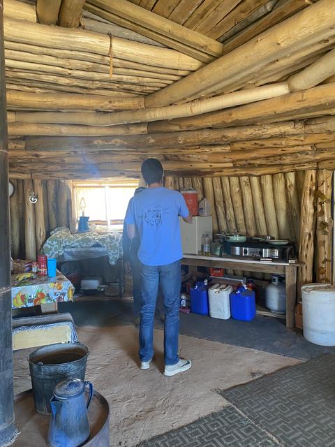 Kitchen on the Navajo Resevation