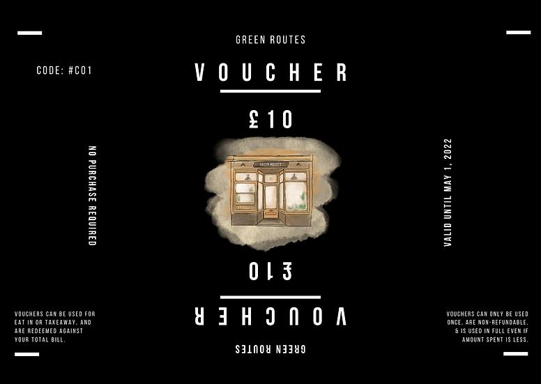 £10 Voucher