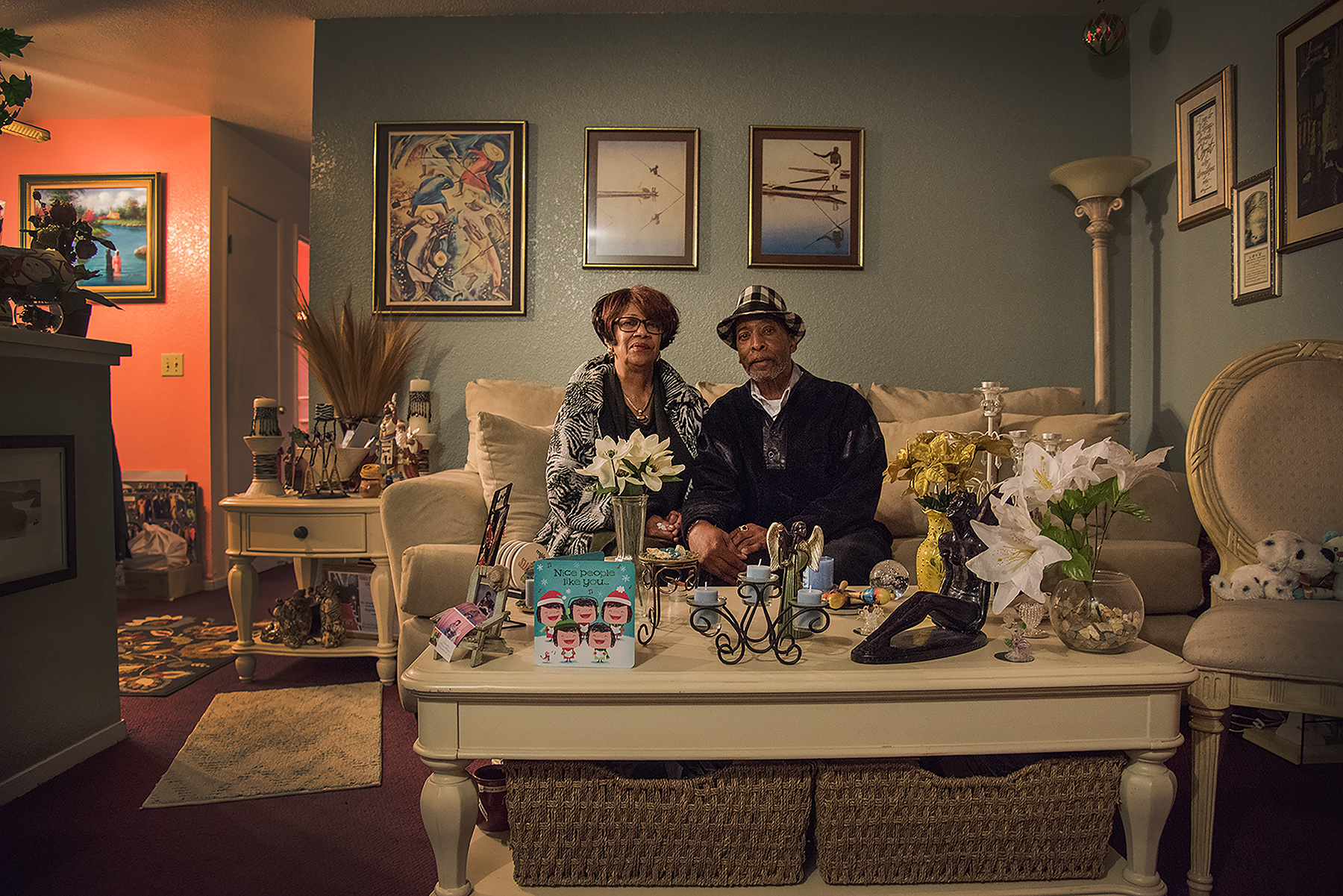 Eight months after he was released from his own Humphrey hearing, Mr. Kenneth Humphrey sits in his home with his longtime partner Judy. They live a quiet life - walks on the lake, family gatherings.
