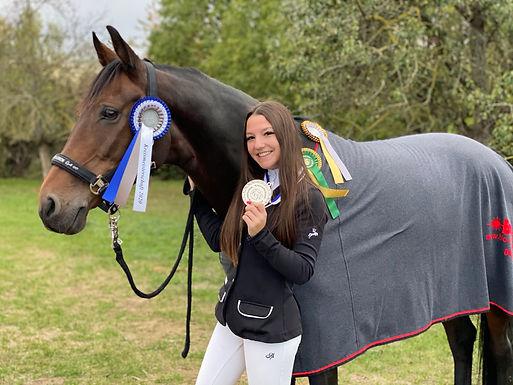 Elisa und La Coletta sind Vizekreismeister 2020
