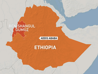 Ethiopian Dam & 25,000 people seized by Militia