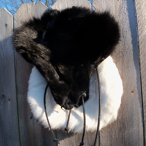 Fox Face Fur Sporran