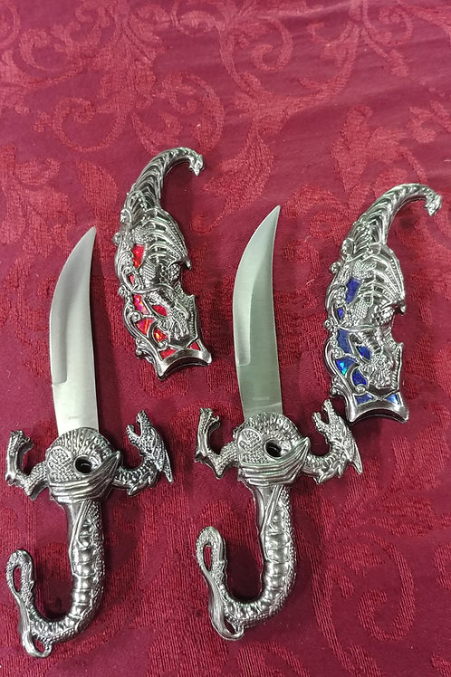 Dragon Daggers Red or Blue