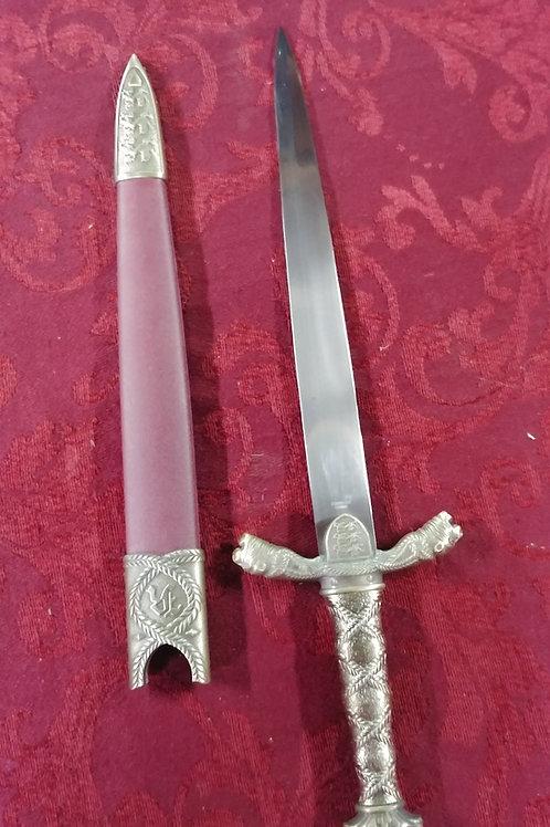 Burgundy Dagger