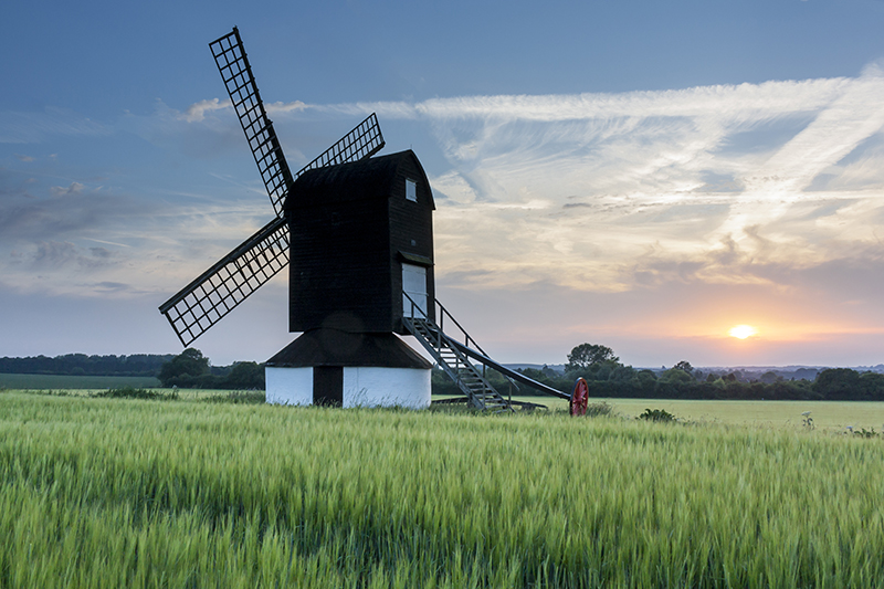 windmill sunset_10
