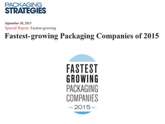#1 Fastest-growing packaging companies of 2015