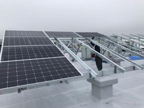 太陽電池モジュールを設置しました(愛知県稲沢市)