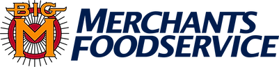 Merchants Foodservice Logo - Left Justif