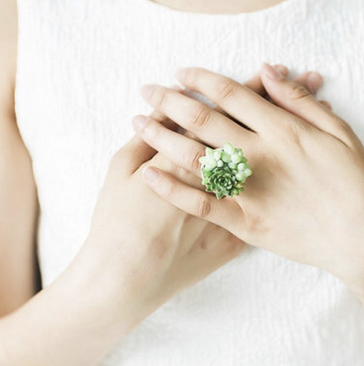 So Succulent Ring Small - $20