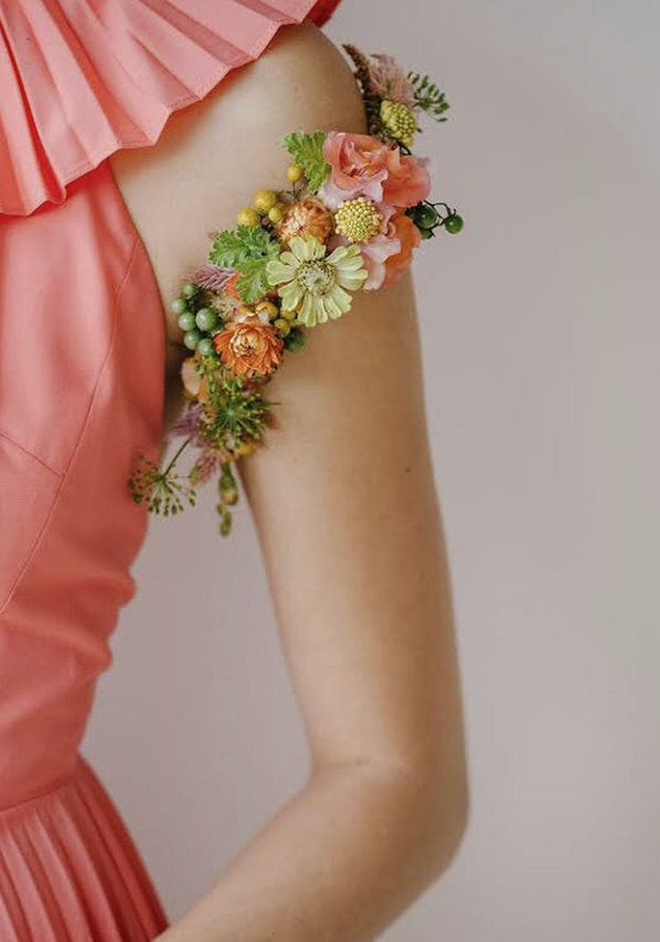 Shoulder Flower Tattoo - $70