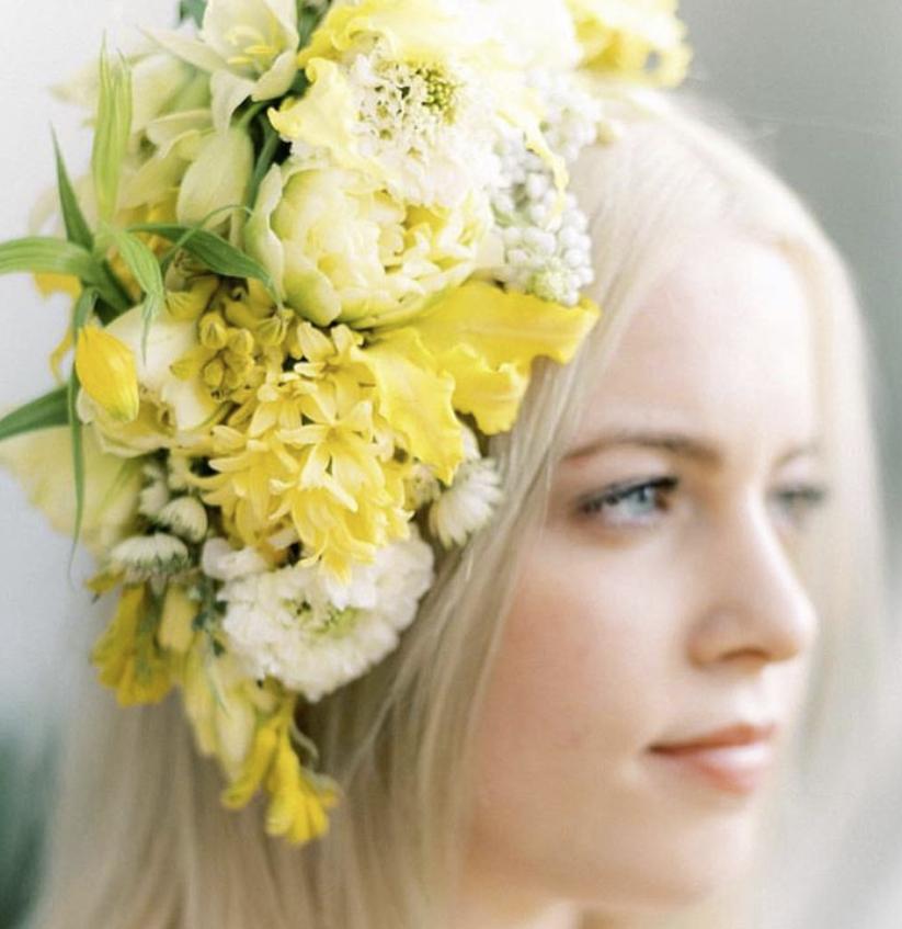 Grande Floral Fascinator - $195