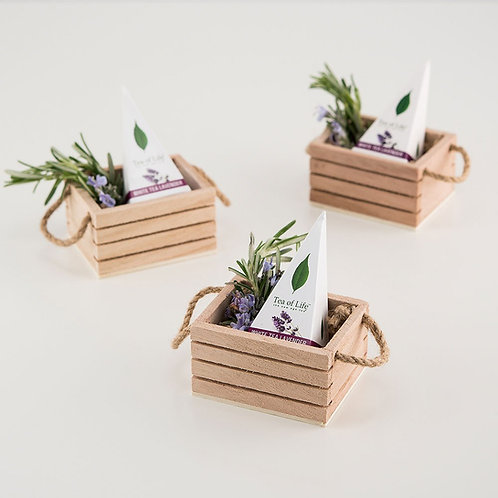 Mini Wooden Crate - Set of 4