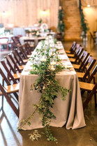 Layered Foliage Table Garland Runner - Hire