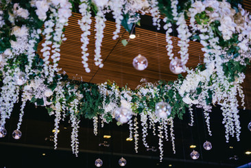 3 Mtr Rose Wisteria Hanging Ring - Hire