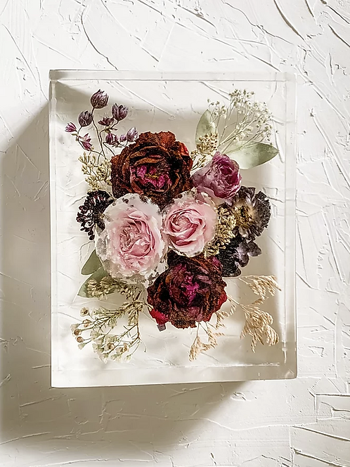 24cm Bouquet Flower Block
