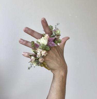 Petite Floral Rings - $20 ea
