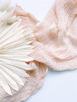 Blush Pink - Cheesecloth Runner