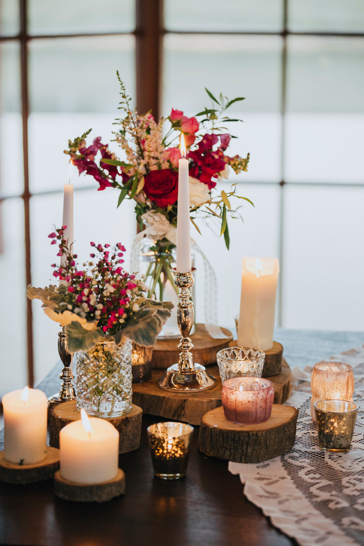 Silver Plated Candlestick - Hire