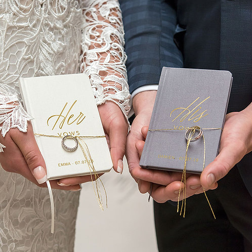 Her Vows - Personalised Pocket Note Book