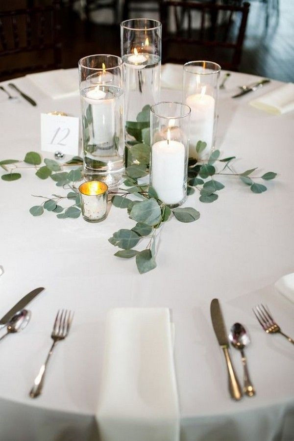Round Guest Table Flower Hire