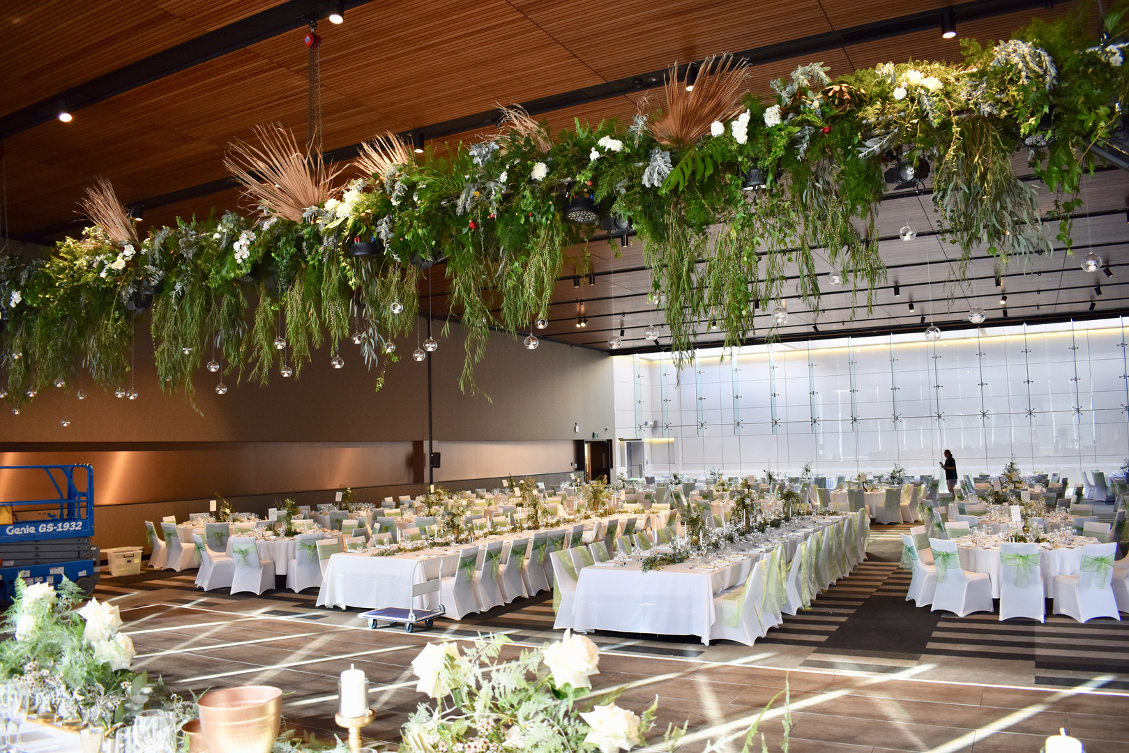 Long Hanging Installations - Hire