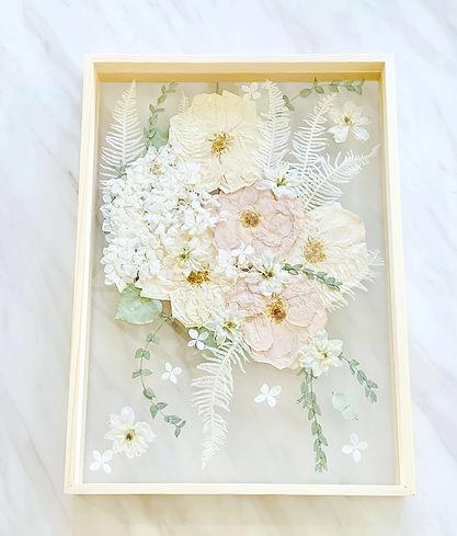 pressedweddingflowersbouquetframenordicm