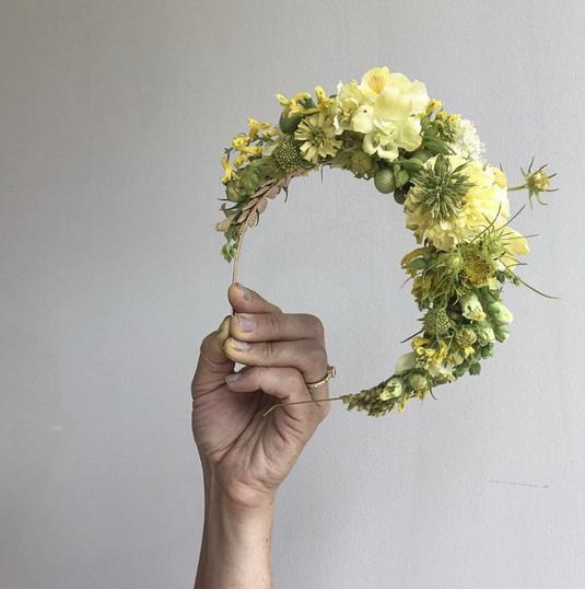 Full Bloom Headband - $90