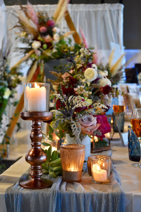 Wooden Pillar Candle Holder - Hire
