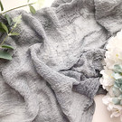 Grey - Cheesecloth Table Runner