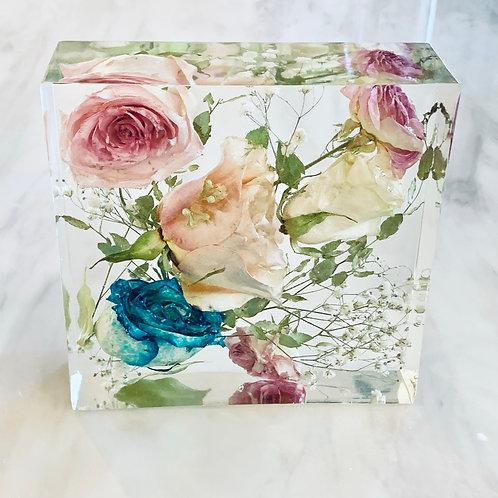 15cm Bouquet Flower Block