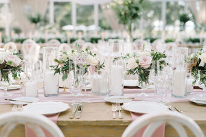 Clear Cylinder Vases Asstd Sizes - Hire