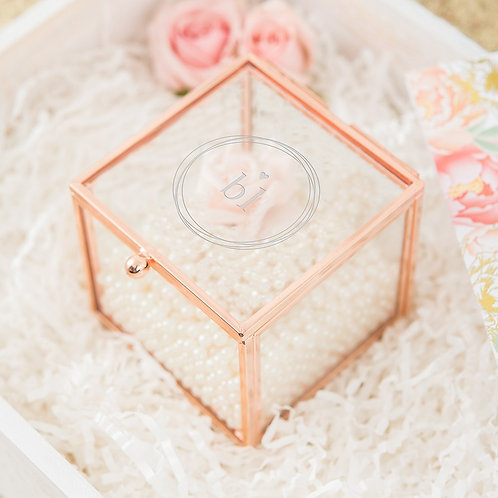 Little Heart - Rose Gold Jewellery Box