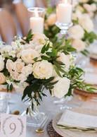 Crystal Compote Flower Vase - Hire