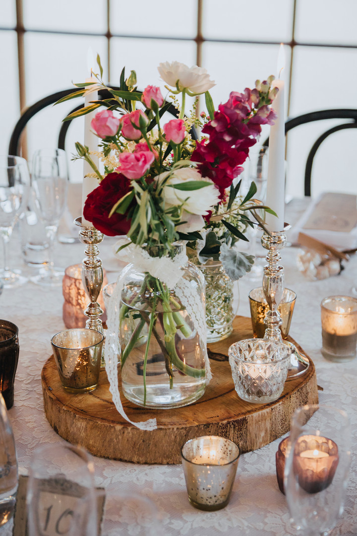 Rustic Woodland Centrepiece - Hire