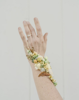 Wrist Only Flower Tattoo - $55