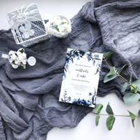 Dusty Grey - Cheesecloth Table Runner
