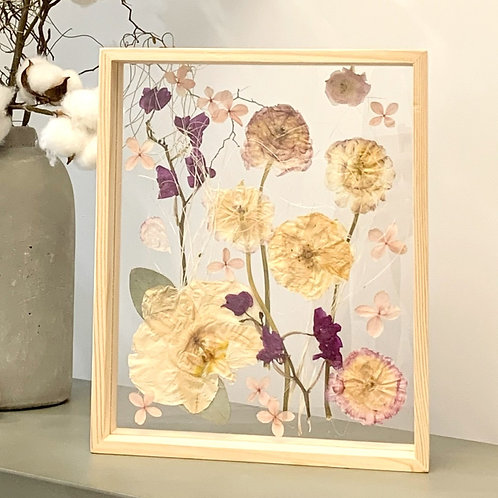 25cm - Nordic Pressed Flower Frame