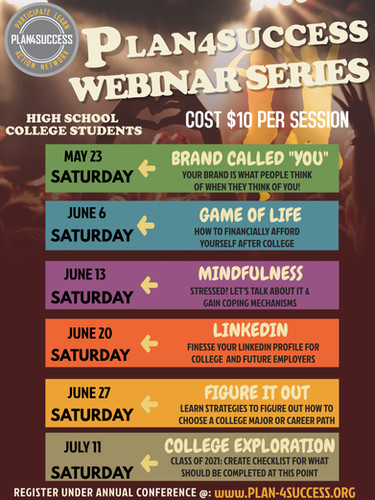 PLAN4SUCCESS WEBINAR SERIES