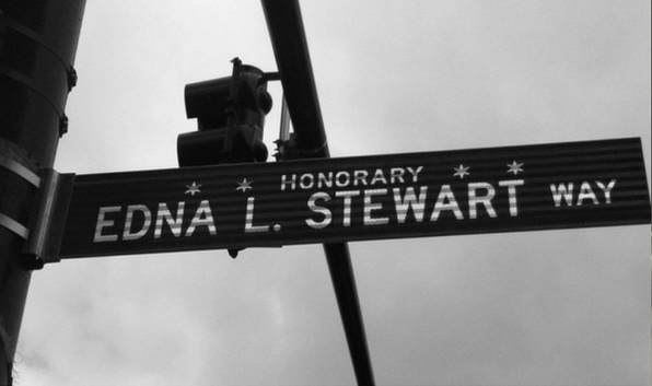 Honorary Edna L. Stewart Way
