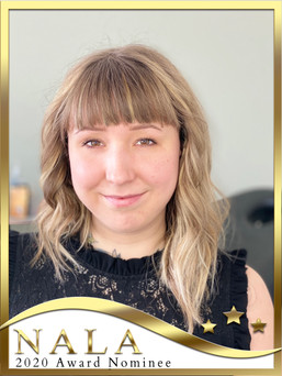 Ashley's Esthetics NALA Lash Awards Nominee
